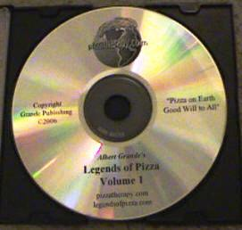 Actual CD, Legends of Pizza Volume 1. Claim your copy now!
