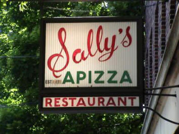 Sally's Apizza, Wooster Street, New Haven Connecticut