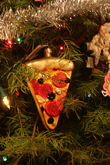 Pizza Ornament from Jon and Sandy